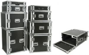 19'' equipment flightcase - 8U